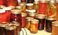 Another passion of mine is canning, I love to make homemade pickles, jams, jellies, chow-chow and preserves!!