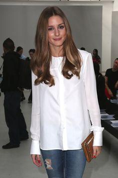 Olivia Palermo Button Down Shirt