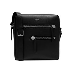 Shop the Kenrick Small Reporter in Black Calfskin Leather at Mulberry.com.  The Kenrick 84149d533dd6c