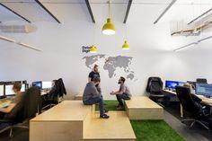 Nowe biura Deloitte Digital w Łodzi- Strona 8 - Aranżacje hoteli, restauracji, biur - Sztuka Wnętrza