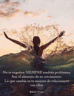 〽️ No te engañes siempre tendrás problemas... Rafael Vidac