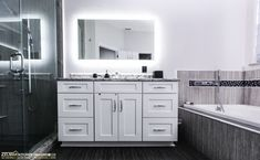 Using drawers when possible rather than cabinet doors adds much more usable storage space in either a kitchen or bathroom.  Visit https://www.zelmarkitchendesigns.com/ for more design ideas.