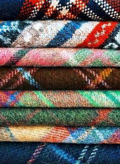 All the Colours of Tartan . Tartan Plaid, Plaid Flannel, Plaid Scarf, Plaid Shirts, Harris Tweed, Textiles, Technicolor Fabrics, Textures Patterns, Print Patterns