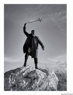 John Boyega para Man of The World #14 por Kurt Iswarienko - Male Fashion Trends