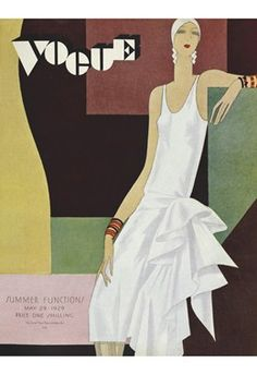 Vogue UK cover, May 1929