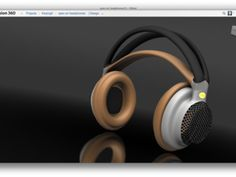 Headphone concept by Keqing Song built in #Fusion360