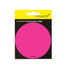 TOWER's range of eye-catching Magnetic Licence Disc Holders are easy-to-use and are reusable so no more scraping off sticky residue from your windscreen when replacing your licence disc. They can also be used as handy fridge magnets or coasters. Office Organisation, Signage, Adhesive, Magnets, Coasters, Tower, Range, Eye, Work Office Organization