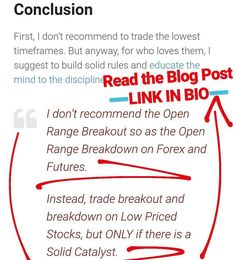 How to be a Profitable Trader with 7 of the Best Intraday Trading Rules Read my