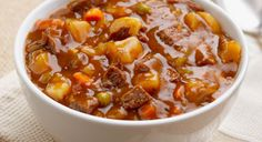 Slow Cooker Beef Stew  Tips -  add other seasonings like garlic, onion, pepper .Better to use 2-3 fresh peeled cubed potatoes