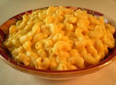 Paula Deen Crock Pot Macaroni and Cheese. Made this for a pot luck, just threw the noodles in the crock pot with all the raw ingredients (I didn't add the eggs), then cooked on low for 3 hours.  Delicious!