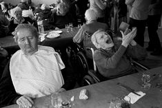 Emmanuel Smague Old age in a nursing home. France.