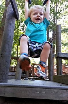 Hanging around at Gahagan Playground.