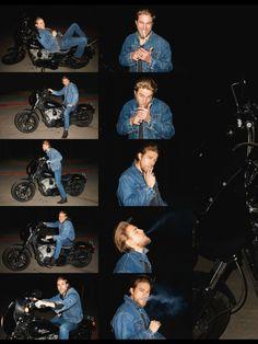 Charlie Hunnam - GQ Style