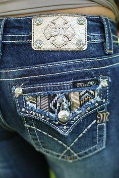 Tribal Treasure Bootcut Jeans