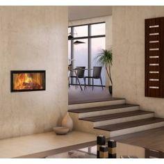 De #Spartherm Varia AS-FDh-2 is een moderne #tunnelhaard met aan 2 zijden een glasraam. Zo is de Spartherm Varia AS-FDh-2 zeer geschikt als roomdivider zodat het vuur zichtbaar is vanuit 2 ruimten. Het aantrekkelijke vermogen van 7 kW maakt deze liftdeurhaard geschikt voor vrijwel elke woning. Het uniek en gepatenteerde liftdeursysteem zorgt voor een optimaal gebruiksgemak. #Kampen #Fireplace #Fireplaces #Interieur