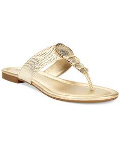 Alfani Harlquin Flat Thong Sandals