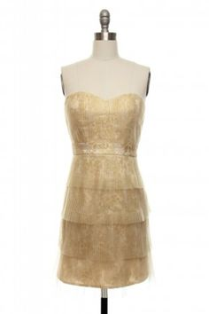 Golden Year Dress | Vintage, Retro, Indie Style Dresses I'm not entirely sure how I feel about this one