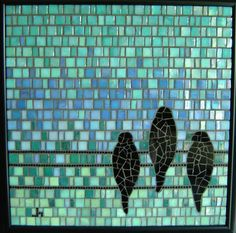 31 Pictures of turquoise mosaic bathroom tiles 2019 Mosaic Bathroom, Mosaic Diy, Mosaic Garden, Mosaic Crafts, Mosaic Projects, Mosaic Glass, Stained Glass, Glass Art, Small Bathroom