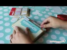 How to Make a Fold Up Memory Book.  Easy paper craft that combines scrapbooking and journaling.  Also would make a great gift for a loved one
