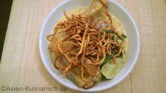 Khao Soi Gai: Thailändisches Hähnchencurry In der thailändischen Küche ist fast alles laktosefrei.
