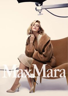 Max Mara fall 2015 campaign featuring model of the moment, Gigi Hadid. Photographed by Anthony Maule