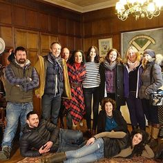 The #Unforgettable #Cast of @Outlander #Starz #Outlander & our Crew on Location in #Scotland. Tune in to @CBSSundayMorning this #Sunday w/ #caitrionabalfe #marildavis #MarylouTeel #AlanaMcGaughey