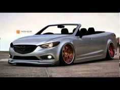 2014 Mazda6 Sedan Convertible rendering with body kit and rims - horsepo...