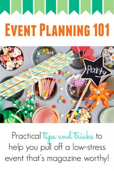 Love this tips - should really help for the next party!
