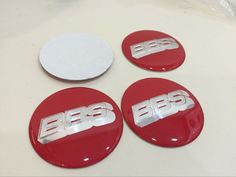 4x NEW CHEVROLET Silver /& Gold Wheel Center Caps Sticker Decal 56MM Full Set 2.3 inch