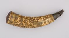 Powder Horn | Colonial American | The Met