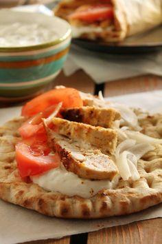 Σουβλάκι κοτόπουλο Chicken Souvlaki, Pasta, Ethnic Recipes, Food, Essen, Meals, Yemek, Eten, Pasta Recipes