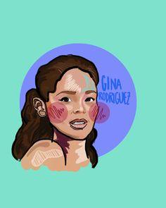 Gina Rodriguez #janethevirgin #drawing #illustration #ginarodriguez
