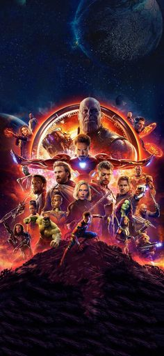 Sharing my Infinity War iPhone X wallpaper