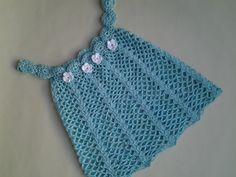 Vestido verano bebita a crochet 1ª parte #tutorial #diy