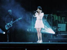 Lana performing at Park Live Festival, Moscow, Russia