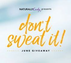 Don't Sweat It Summer Giveaway