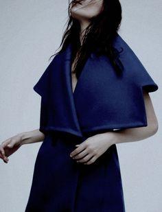 Kinga Rajzak by Gregory Harris for Dior Magazine Winter 2014