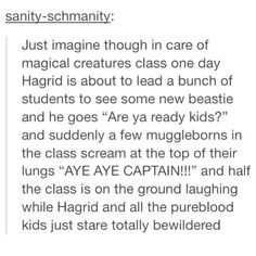 When they thought about how great being a muggle-born at Hogwarts would be | 9 MORE Times Harry Potter Perfectly Resonated with Tumblr Users | moviepilot.com