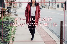 How To Really Know Someone | 13   Found these questions on Tumblr and decided to turn it into a blog series where I answer 5 questions at a time. Join the fun!  How To Really Know Someone Tag Questions  61. What do you think about following your dreams? Are you following your dreams?  I think it's an amazing thing and I think everyone should do it! Our dreams are placed in our hearts for a purpose; our desires aren't random. I believe that our dreams are given to us by God and I like to…