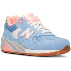 889a546ab4e54 New Balance Women s 580 Riviera Casual Sneakers from Finish Line Shoes - Finish  Line Athletic Sneakers - Macy s