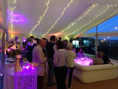 Summer Drinks party with LED furniture and roof lighting create this relaxed atmosphere. Led Furniture, Party Drinks, Summer Drinks, Lighting, Create, Wedding, Beautiful, Summer Beverages, Valentines Day Weddings