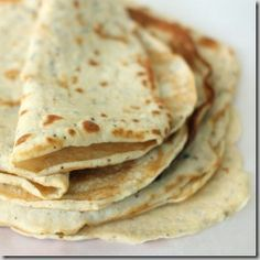 Gluten-free, grain-free flatbread.    Use for sandwich wraps, tacos, enchiladas, lasagna, crepes, etc. Only 80 calories!
