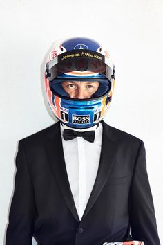 Jenson Button by Simon Geis