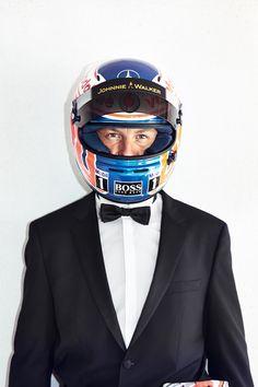 Jenson Button by Simon Geis