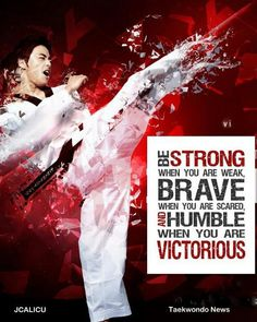 Be Strong, Brave, Humble, Victorious