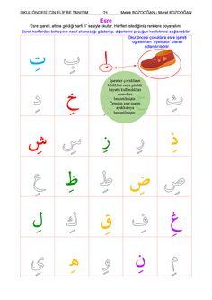 Okul Öncesi İçin Elif Ba (Çocuk Kur'an Eğitim Seti) Arabic Alphabet, Arabic Language, Learning Arabic, Alphabet Activities, Classroom Decor, Teaching Kids, Worksheets, Letters, School