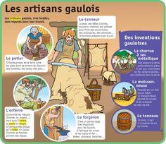 Les artisans gaulois