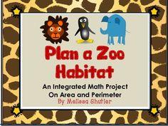 Area and Perimeter - Create a Zoo