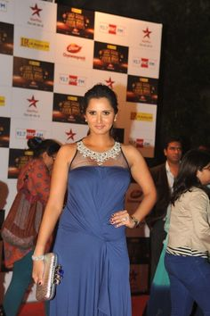 Sania Mirza and Other bollywood Celebrities at Big Star Entertainment Awards 2012.
