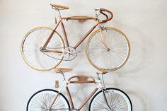 Dots Wooden bike by DotsObject / Bangkok  www.dotsobject.com